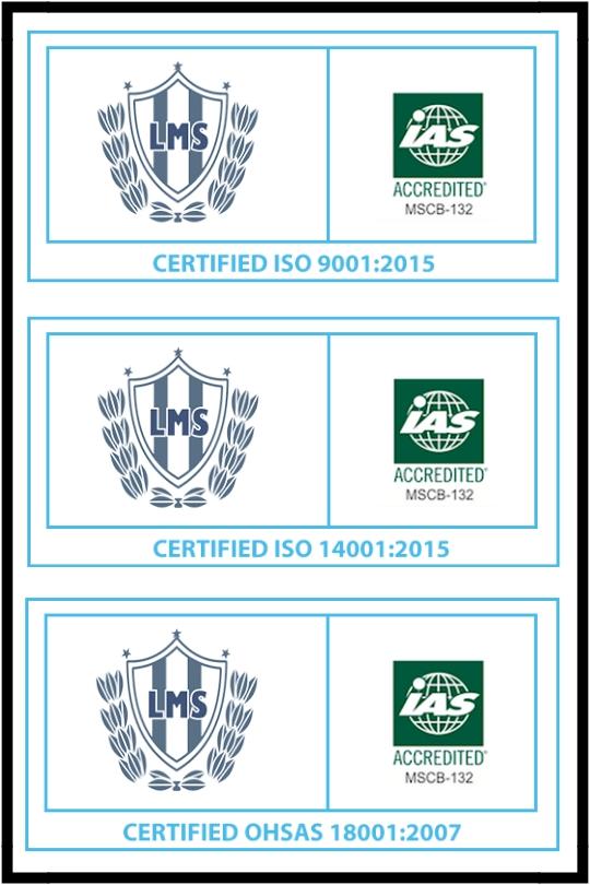 certificaciones iso 18001, 14001, 9001