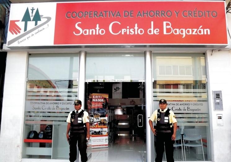 cooperativa de ahorro y credito Santo Cristo de Bagazán